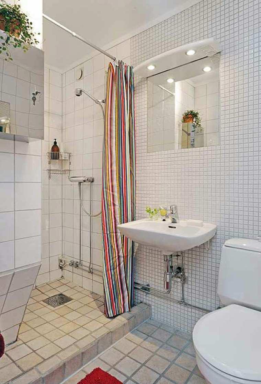Ba os peque os con ducha 38 dise os de moda for Living room for small spaces photos philippines