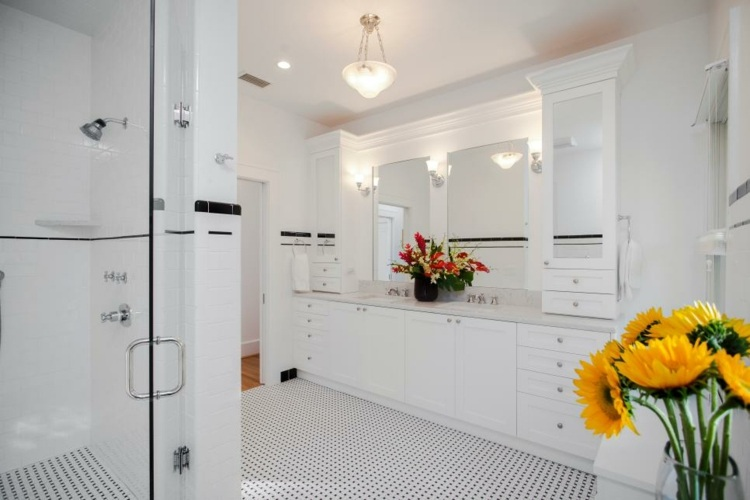 baño blanco luminosos ideas estilo