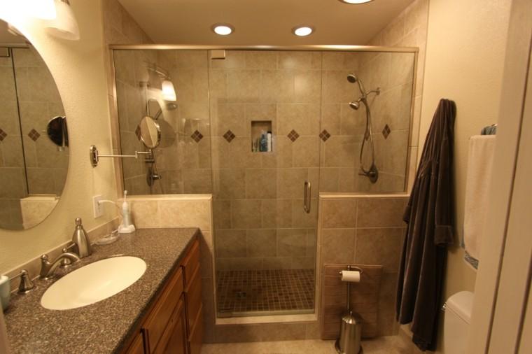 cuarto baño pequeño ducha grande