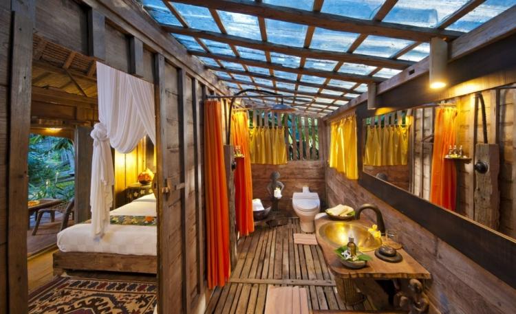 Baño Blanco Con Rojo:Baños con estilo para cualquier diseño y preferencias