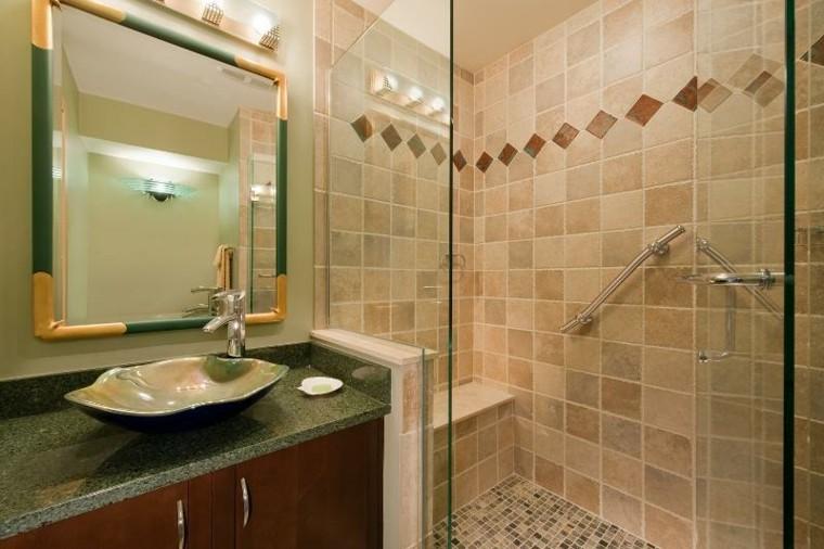 Baño Azulejos Pequenos:Baños pequeños con ducha – 38 diseños de moda