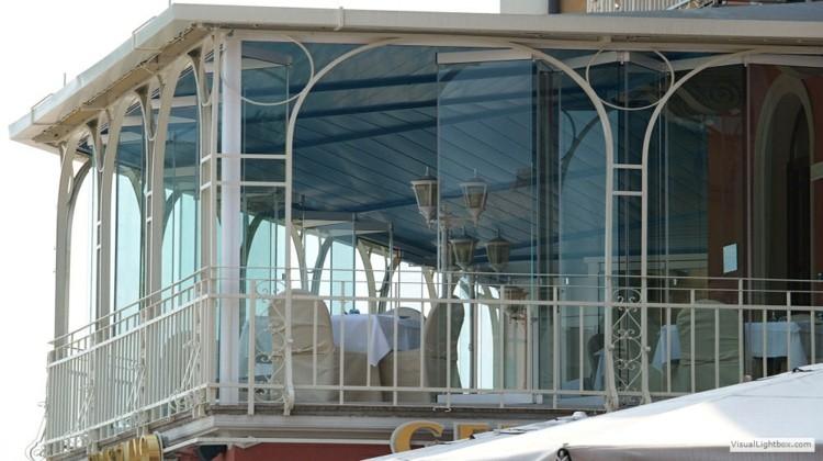 balcón cerrado diseño lujoso