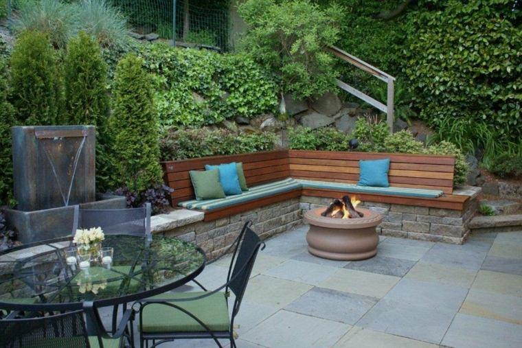 Banco para terraza el asiento perfecto para el exterior for Banco para jardin exterior