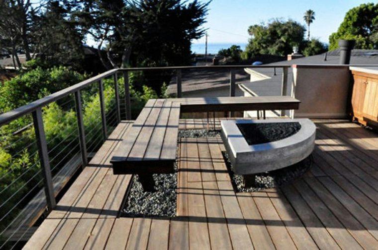 bench modern design corner