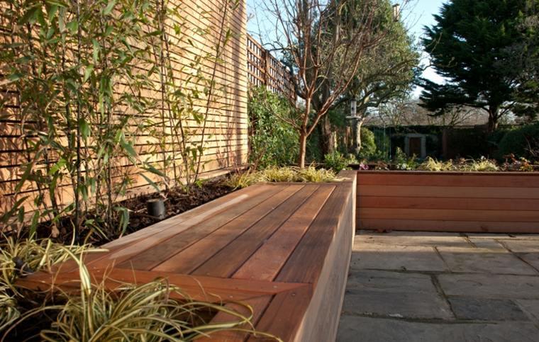 Banco para terraza el asiento perfecto para el exterior for Bancos de terraza y jardin