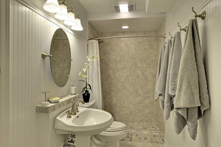 Ba o dise os espectaculares que inspiran - Espejo redondo bano ...