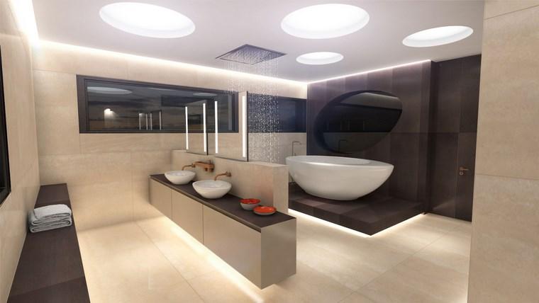 Iluminacion Baño Diseno:Baño diseños espectaculares que inspiran -