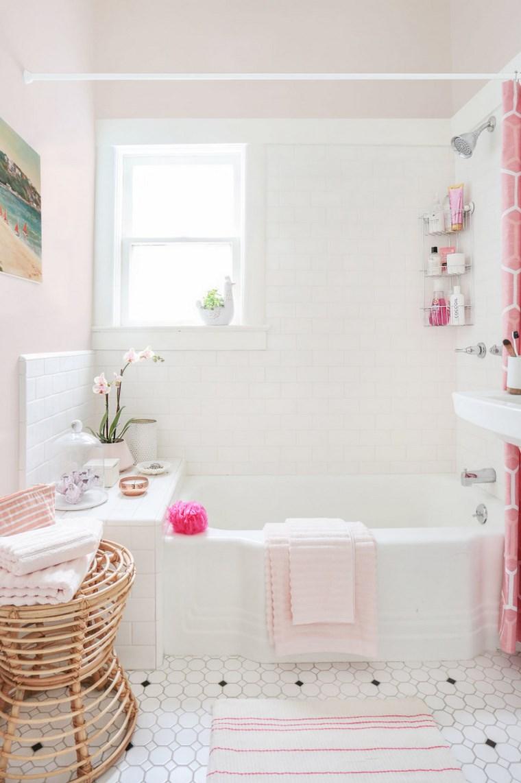 bano diseno inspirador toques rosa ideas