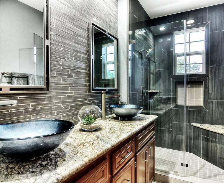 Baños Con Ducha Negra:Baño diseños espectaculares que inspiran -