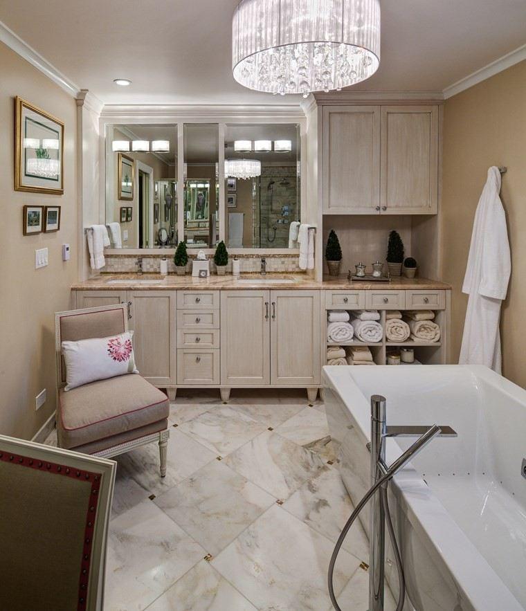 baños bonitos lavabos diseno abetos cuadros ideas