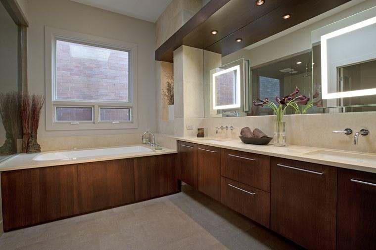 baños bonitos lavabos diseno estilo clasico ideas