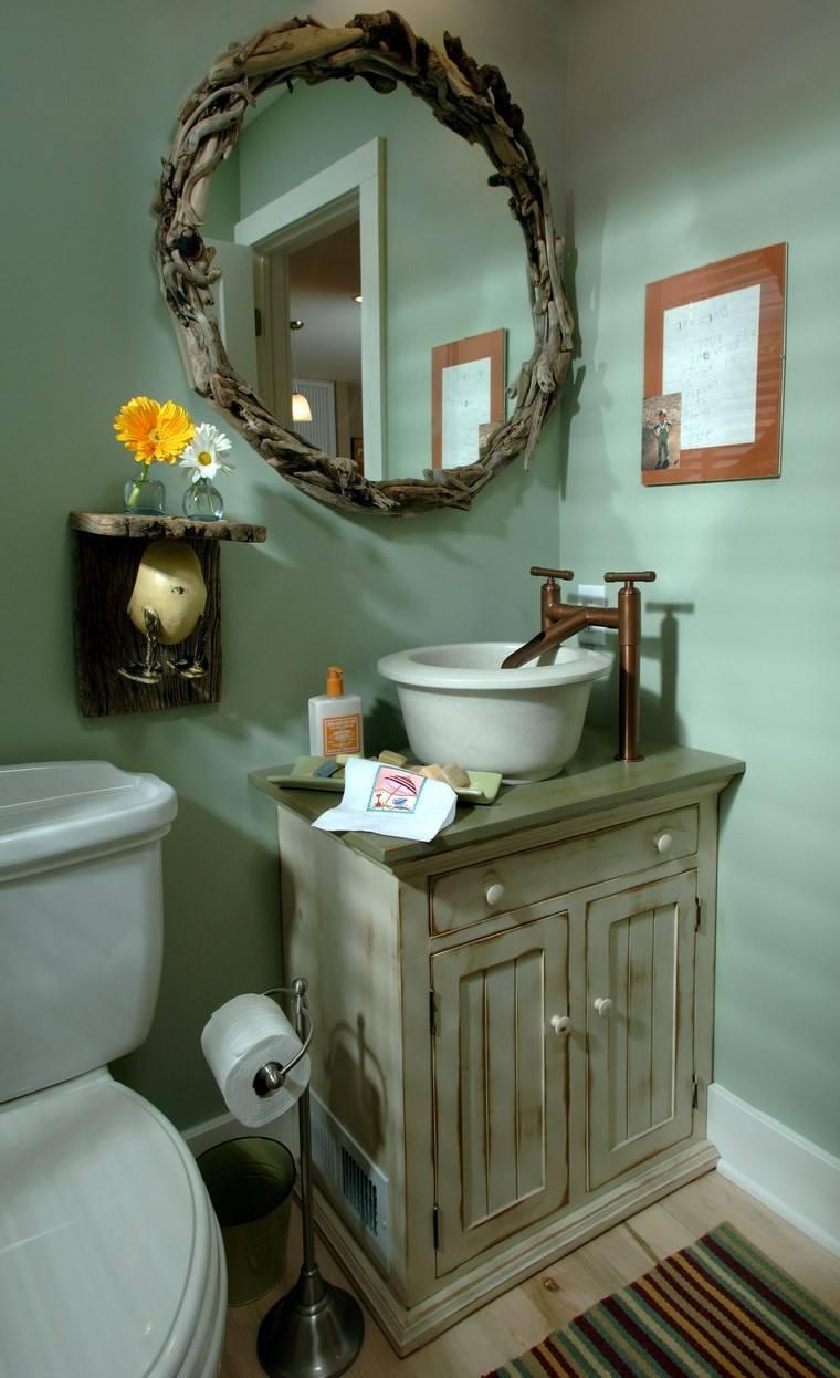 baños bonitos lavabos diseno estilo rustico lavabo ideas