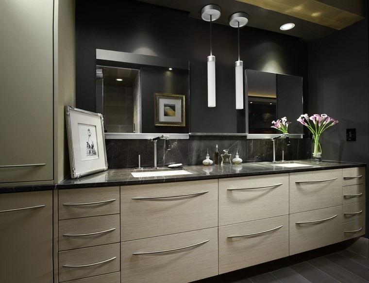 baños bonitos lavabos diseno flores bonitos ideas