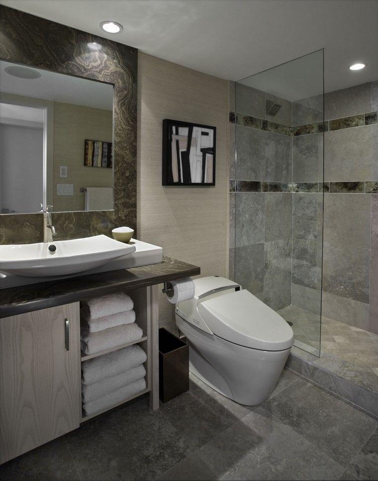Ba os bonitos con lavabos de dise o 36 ideas for Cuartos de bano bonitos