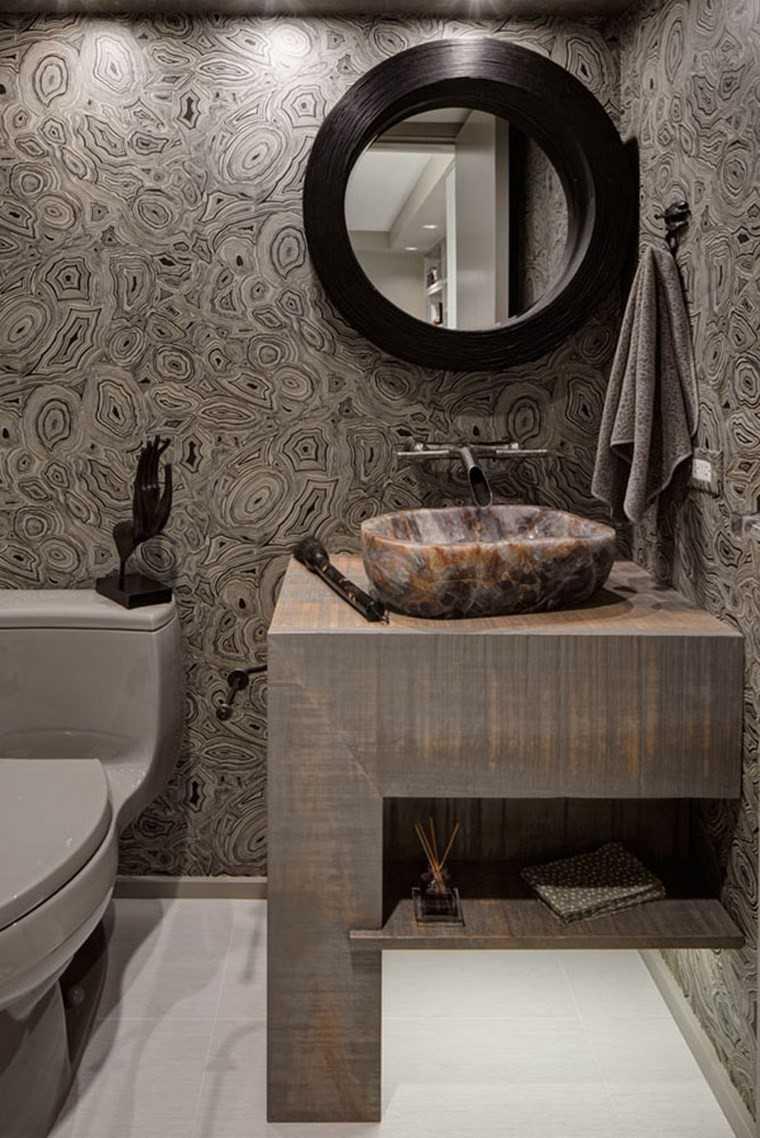 bonitos lavabos diseno pared original ideas