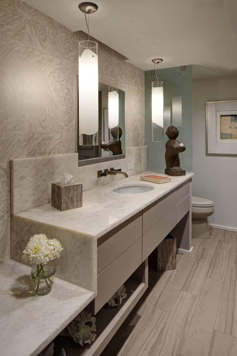 bonitos lavabos diseno plantas figuras ideas