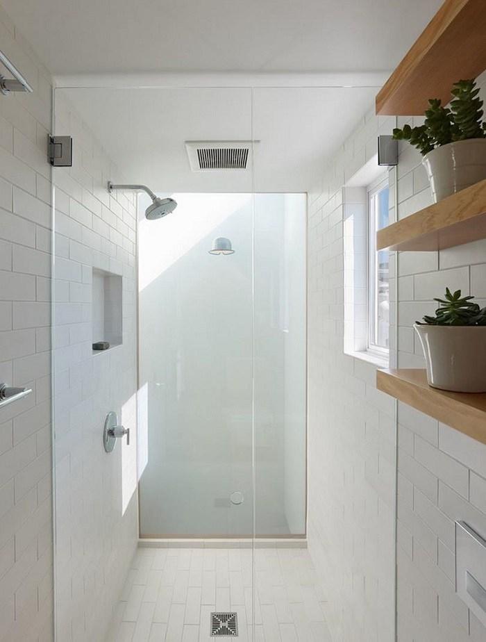 Imagenes ba os con ducha y ba era preciosos - Estantes para interior ducha ...