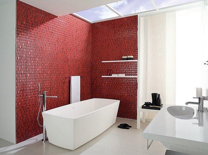 banos con ducha banera estilo contemporaneo ideas