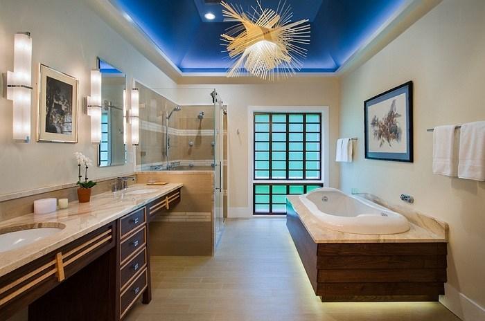 Baño Moderno Con Banera:Imagenes baños con ducha y bañera preciosos -