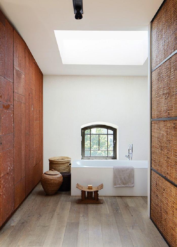 imagenes baños con ducha banera paredes preciosos ideas