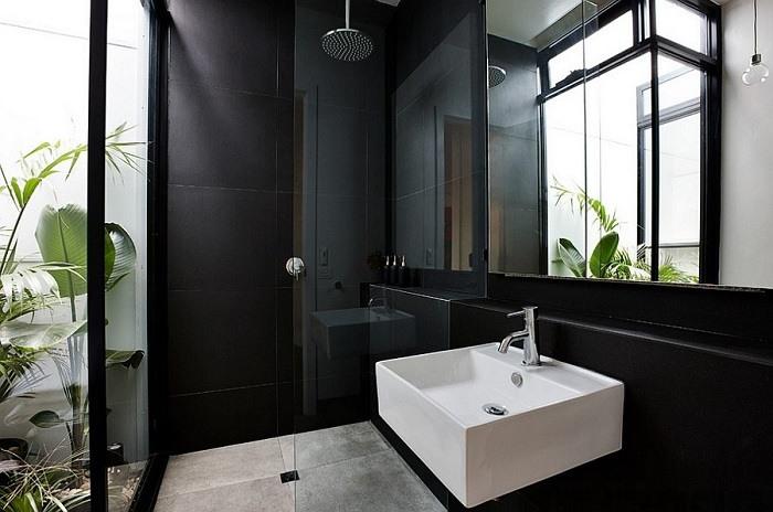 imagenes baños con ducha banera plantas contemporaneo ideas