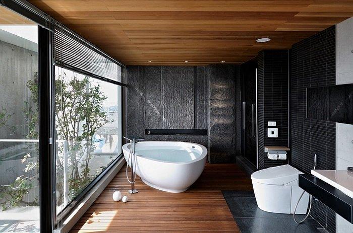 Baño Ducha Banera Pequena Idea:imagenes baños con ducha banera toques clase ideas