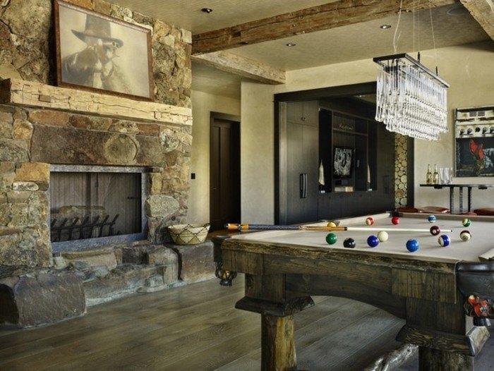 billar diseño casas salones sillones cuadro