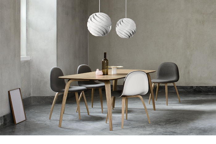 blanco diseño centro mesa negro
