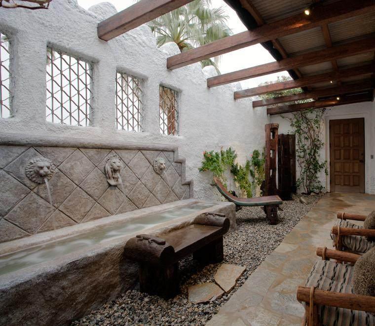 terrazas decoracion rusticas terrazas cubiertas decoracion y diseo ideas