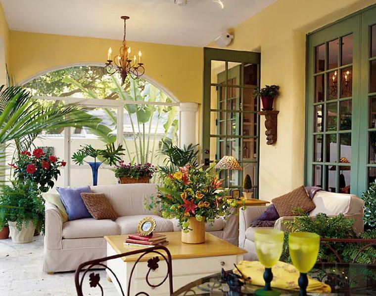 salon cubierto muebles interior