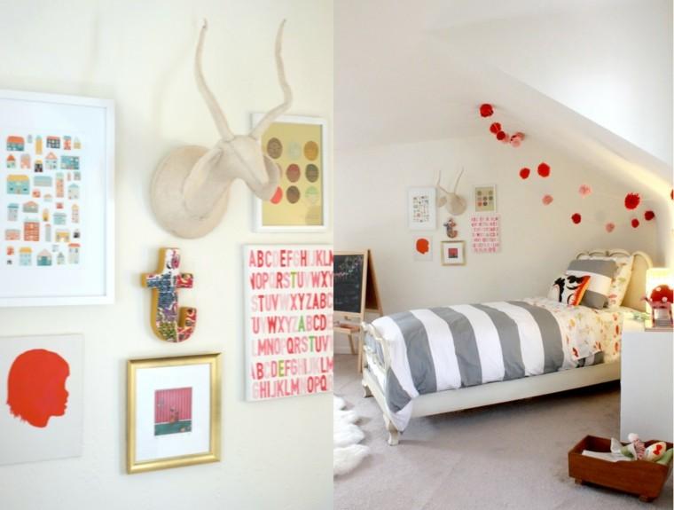 bonita habitación infantil moderna