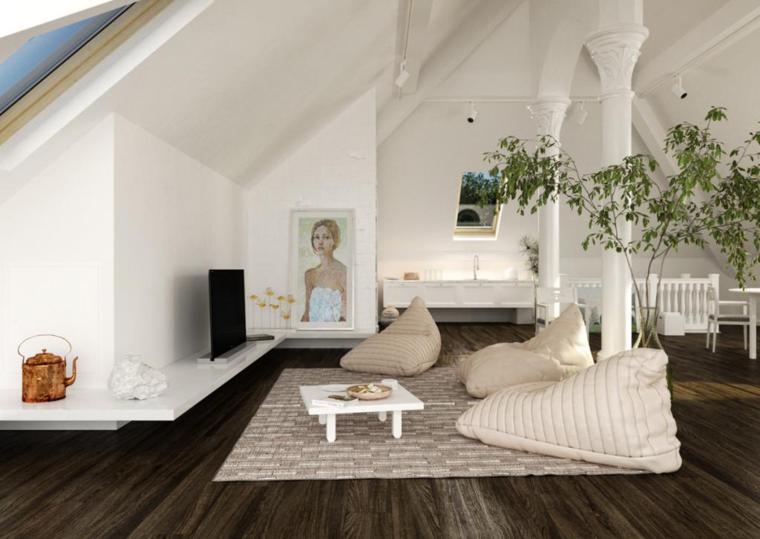 estupendo salon estilo minimalista