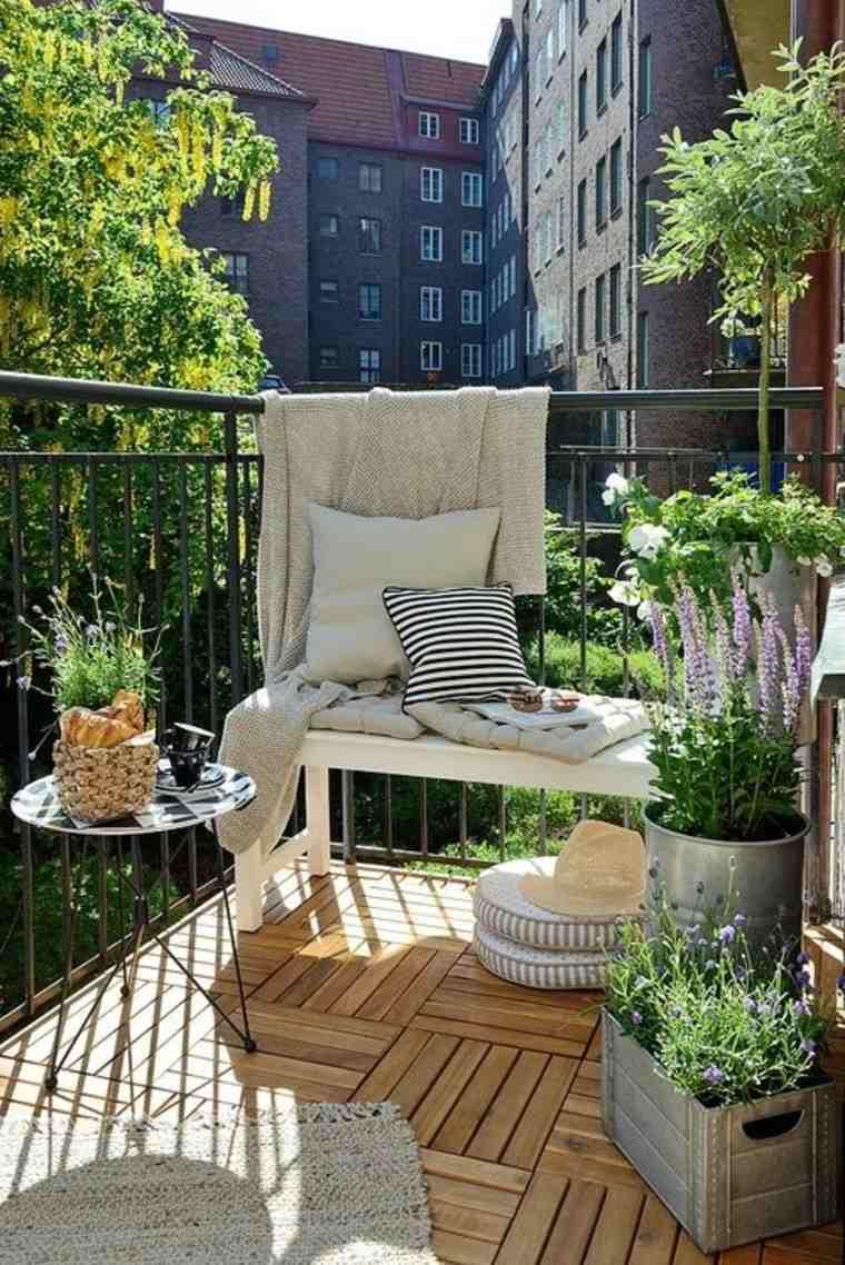 bonita deco terraza pequeña