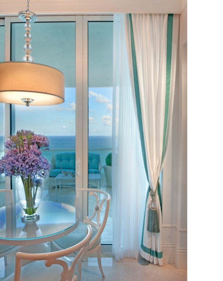 bonitas cortinas salita blanca deco