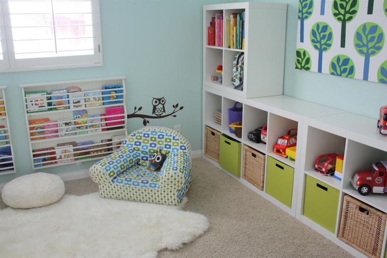 bonitas habitaciones infantiles modernas
