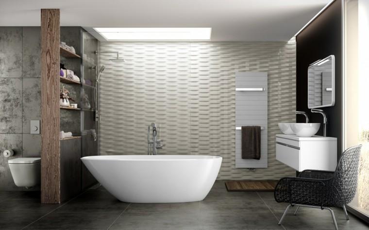 baño lujoso diseño moderno