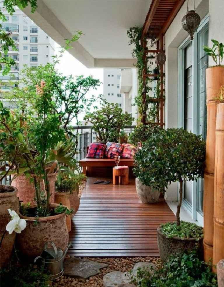 bonito diseño plantas terrazas