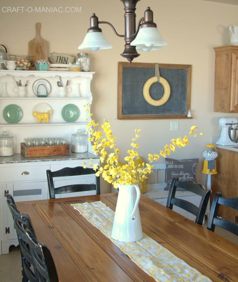 bonito diseño decoración cocina rustica