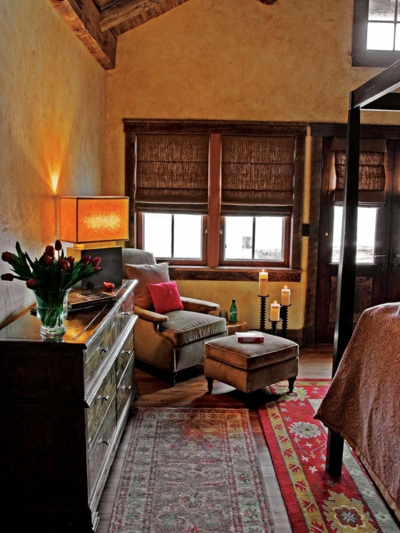 Decoracion de dormitorios rusticos madera y piedra - Rustika decoracion ...