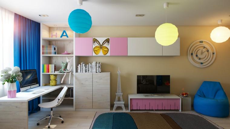 bonito diseño habitacion infantil