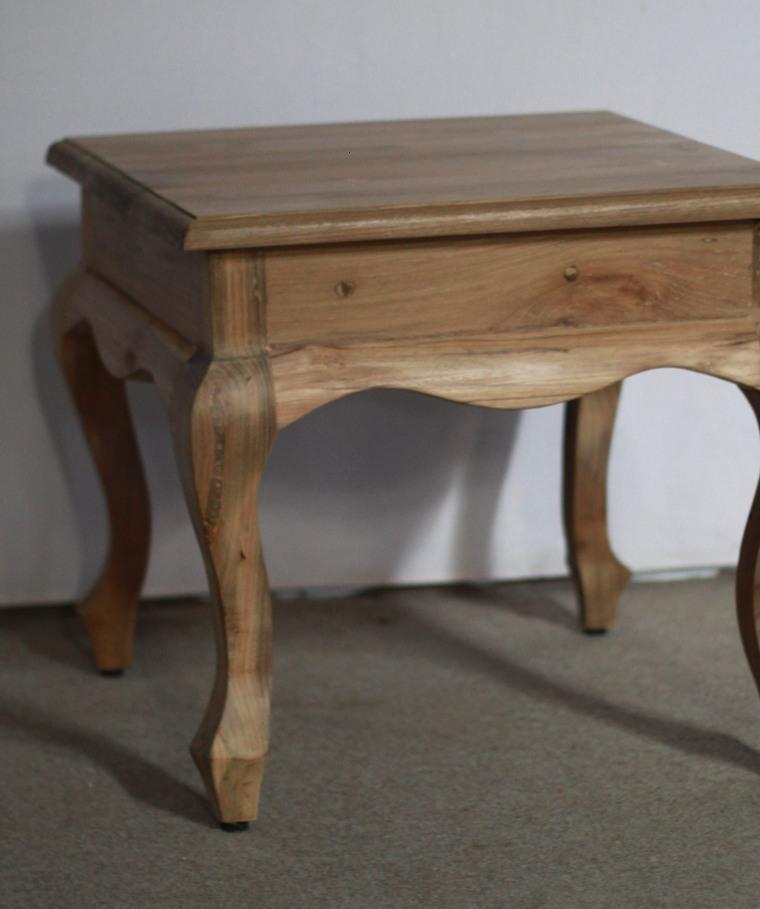 mesilla madera tallada colonial