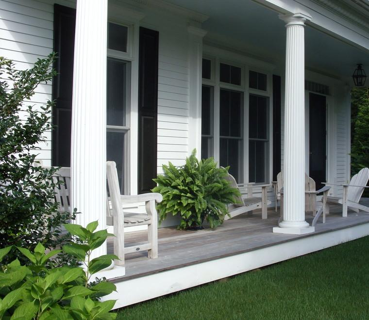 Porches para terrazas modelos de espacios semicubiertos - Disenos de porches de casas ...