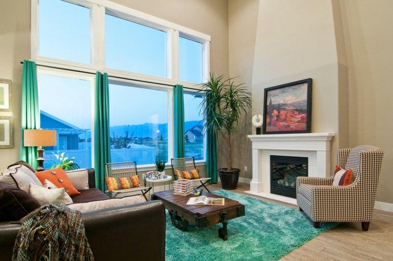 bonito diseño sala estar moderna