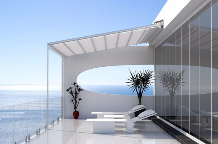 terraza moderna estilo minimalista