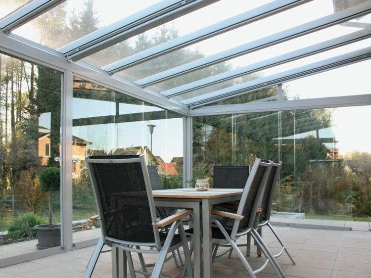 bonito diseño terraza cubierta