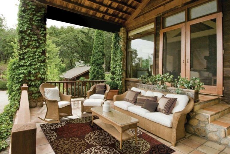 Terrazas interiores decoracion latest estilos mexicano - Decoracion terrazas interiores ...
