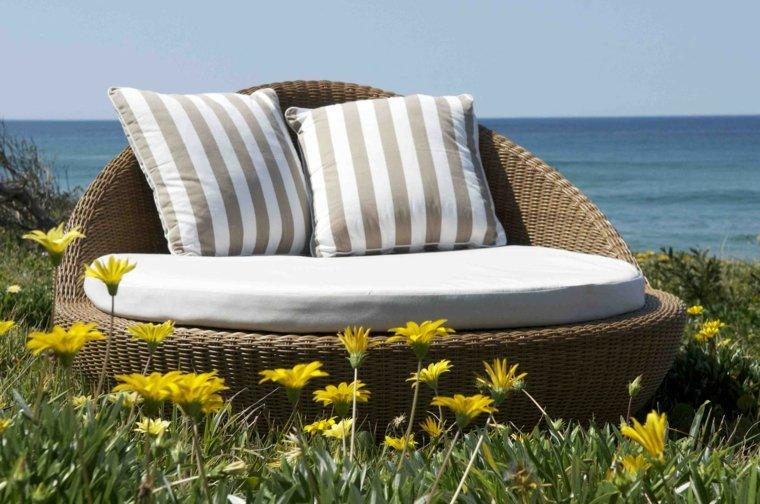 nice design nest rattan cushions