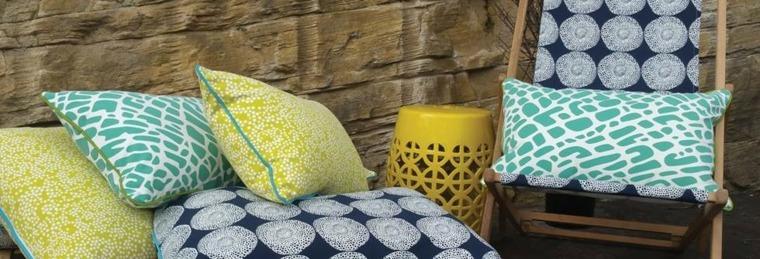 bonitos diseños telas decorar terrazas