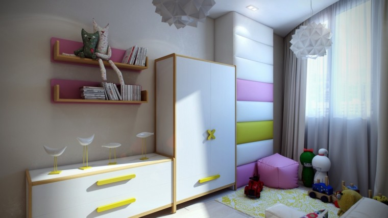 bonitos muebles diseño infantil