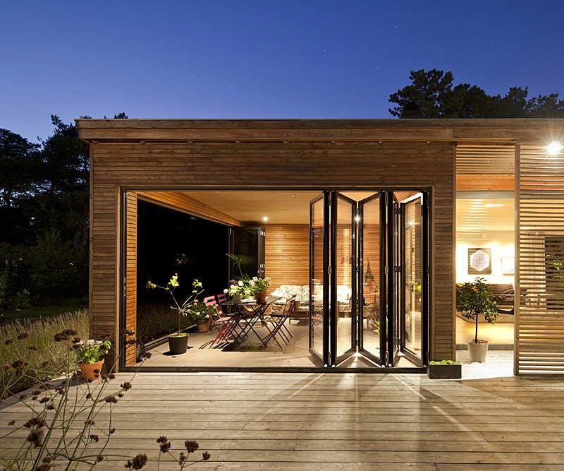 porche terraza dco madera